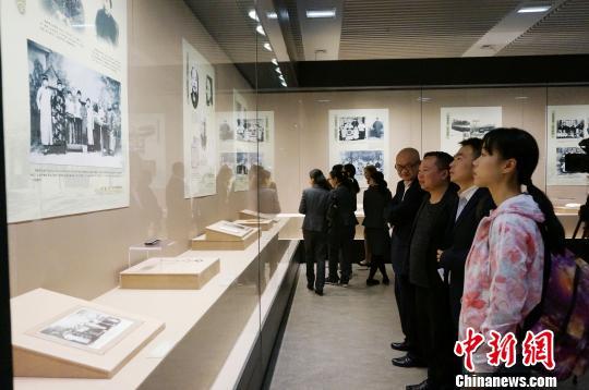 《梁漱溟先生生平图片展》在桂林举办(图)