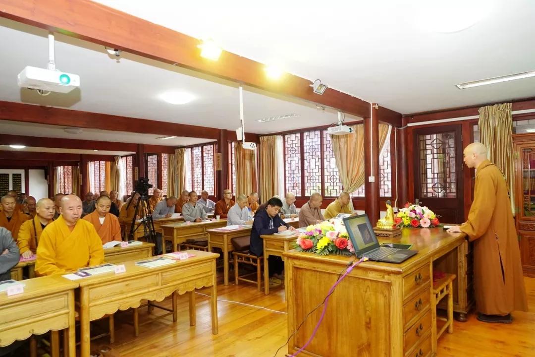 浙江省宁波市第一期佛教仪规培训班在天童禅寺圆满举行(图)