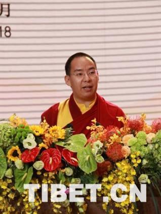 中国佛教协会副会长十一世班禅出席第五届世界佛教论坛开幕式并发表演讲(图)