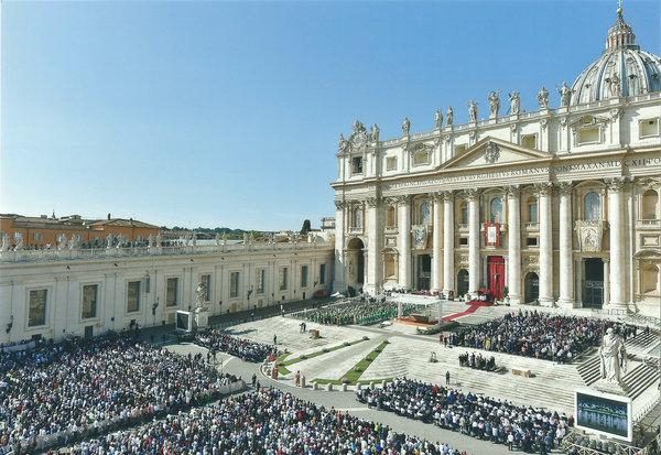 中国天主教代表团出席世界天主教主教会议(图)