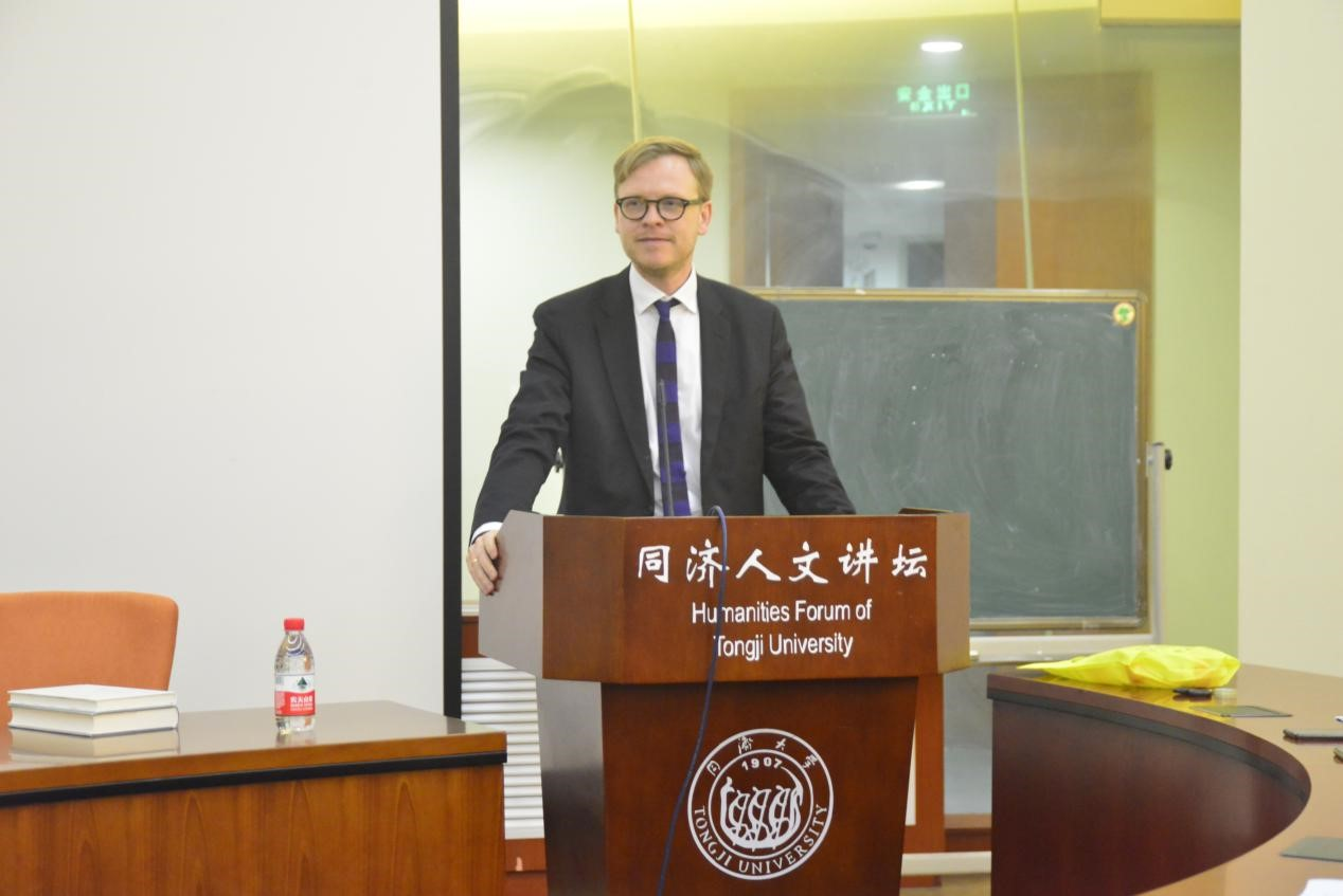 德国哲学教授加布里尔作客同济大学人文讲坛(图)