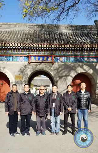 香港青松观及圆玄学院一行拜访中国道教协会(图)