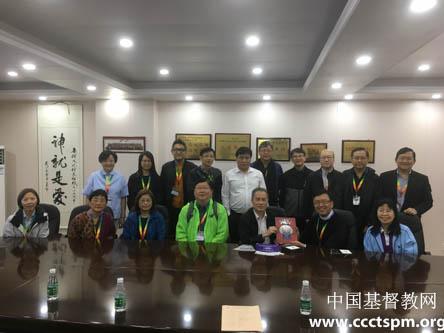 广东省基督教两会接待香港循道卫理联合教会来访(图)