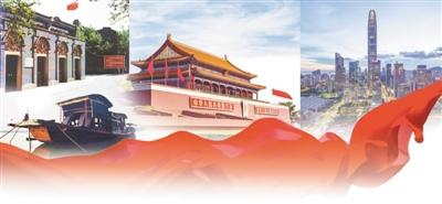 中华民族伟大复兴的三大里程碑(深入学习贯彻习近平新时代中国特色社会主义思想)(图)