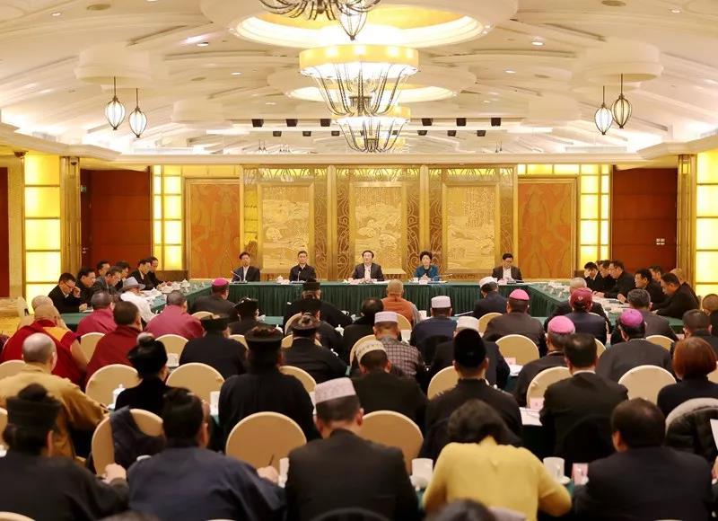 2019年四川省宗教界迎春座谈会在成都举行(图)