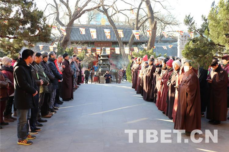 中国佛教协会举行纪念十世班禅大师圆寂30周年法会(图)