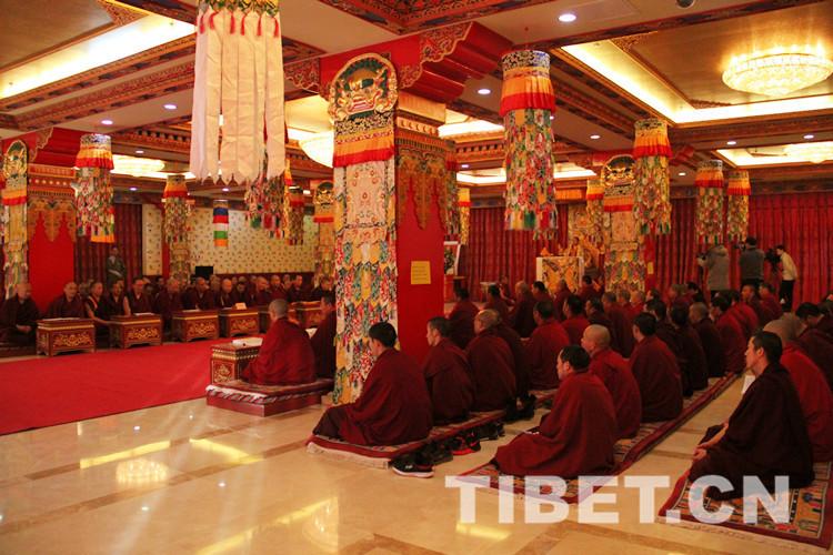 西黄寺、广济寺、雍和宫隆重举行十世班禅大师圆寂30周年纪念法会(图)