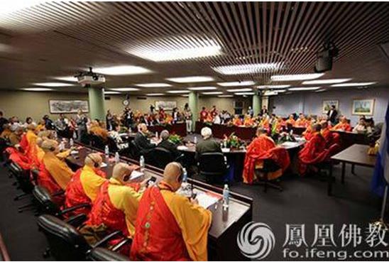 2017中加美三国佛教论坛在加拿大发表《多伦多宣言》(图)