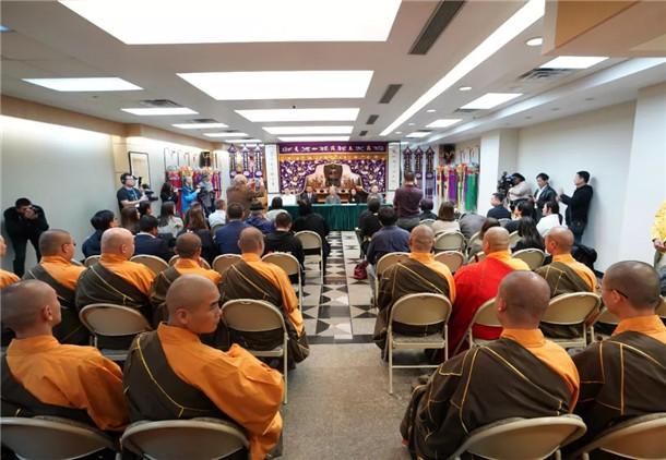 中国佛教梵呗艺术音乐会新闻发布会在美国纽约举行(图)