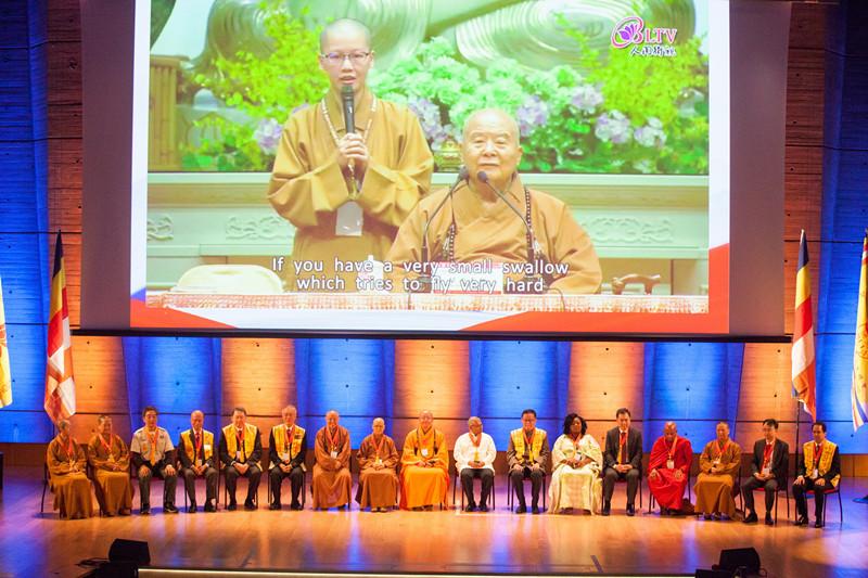 国际佛光会创会总会长星云大师开示 《信仰与传承》(图)