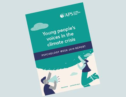 澳大利亚心理学学会发布《2019年心理学周报告:年轻人对气候危机的看法》(图)