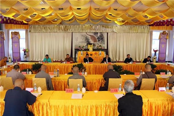 大理州佛教协会第三届第二次理事会在大理崇圣寺隆重召开(图)