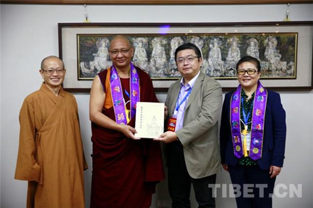 中国藏语系高级佛学院交流团赴台湾开展系列交流活动(图)