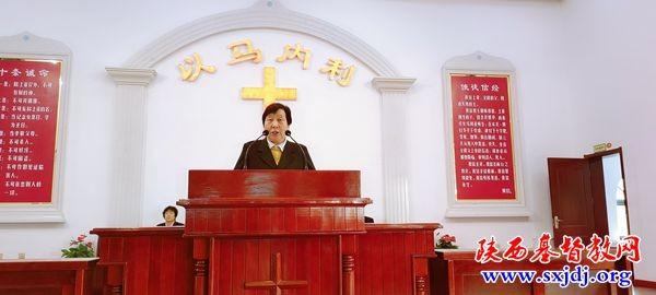 陕西省韩城市基督教两会举办神学思想建设讲道交流会(图)