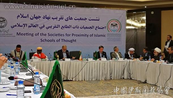 中国伊斯兰教协会秘书长马中平出席伊朗国际伊斯兰团结大会(图)
