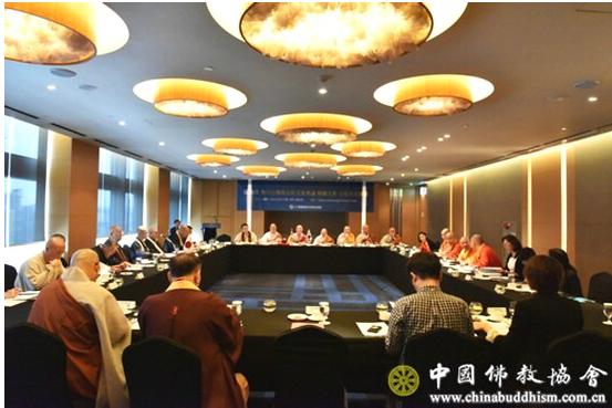 第二十次韩中日佛教友好交流会议在韩国首尔举行(图)