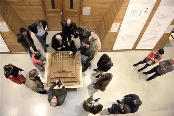 曲径通幽:中国汉传佛寺建筑空间展——七塔禅寺主展在巴斯克大学展出(图)