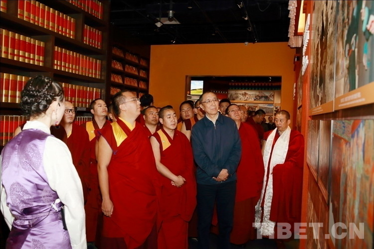 """十一世班禅谈""""藏传佛教发展进入'再弘期'""""(图)"""