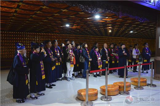 2019道教节海内外参访团赴茅山乾元观朝圣(图)