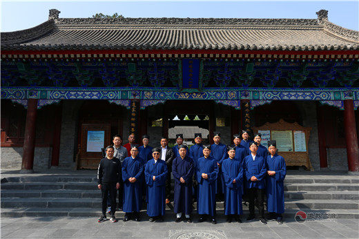上海市浦东新区道教协会参访陕西西安八仙宫(图)