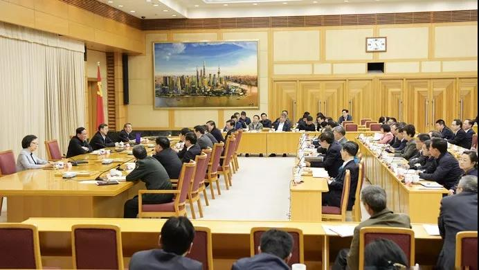 上海市委中心组学习会专题聚焦习近平总书记关于宗教工作重要论述(图)