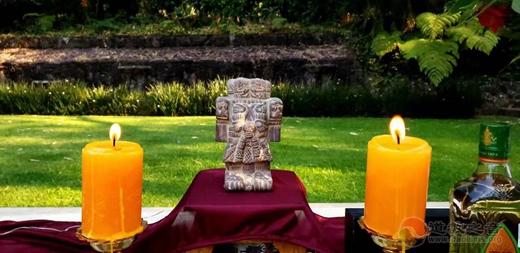 """南美第一座中国传统道观""""长春观""""在墨西哥奠基(图)"""