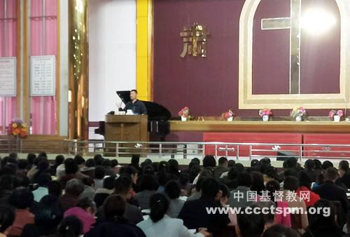 河南省驻马店市基督教两会举办传道员培训班(图)