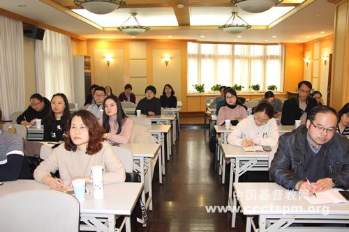上海市基督教两会举行通讯员培训会议(图)