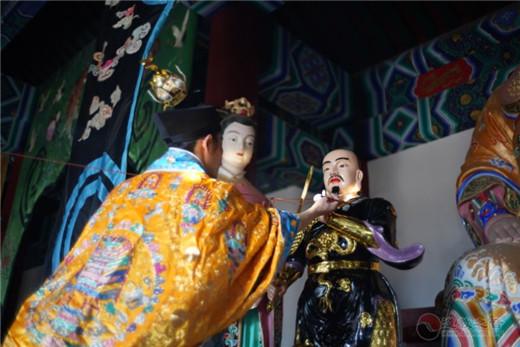 北京圣莲山真武庙举行庆贺真武圣诞暨神像开光法会(图)