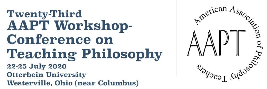 美国哲学教师协会第23届国际哲学教学双年会征集组织研讨会的申请(图)