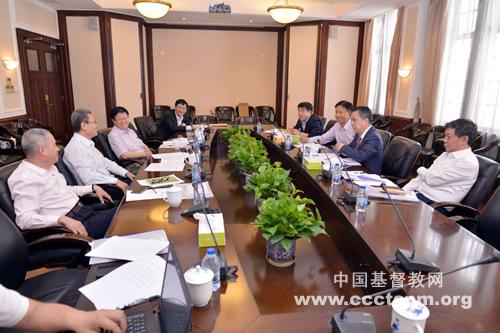 基督教全国两会监事会一届二次会议在上海召开(图)