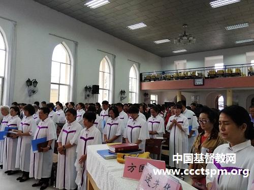陕西省基督教两会神学思想建设讲道交流会在延安市宝塔区基督教堂举行(图)