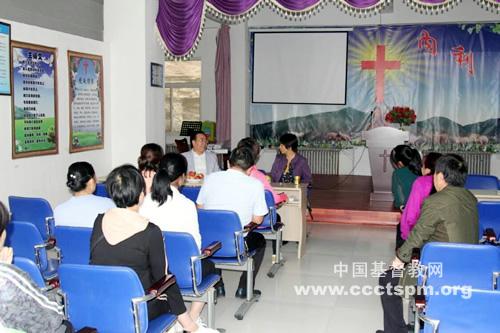 陕西省基督教两会主席会长王俊牧师赴延安开展教会调研事工(图)