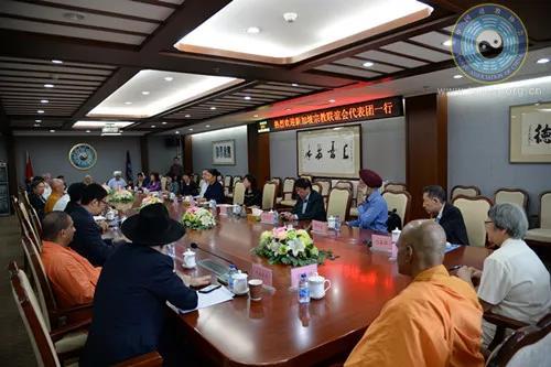 新加坡宗教联谊会代表团拜访中国道教协会(图)