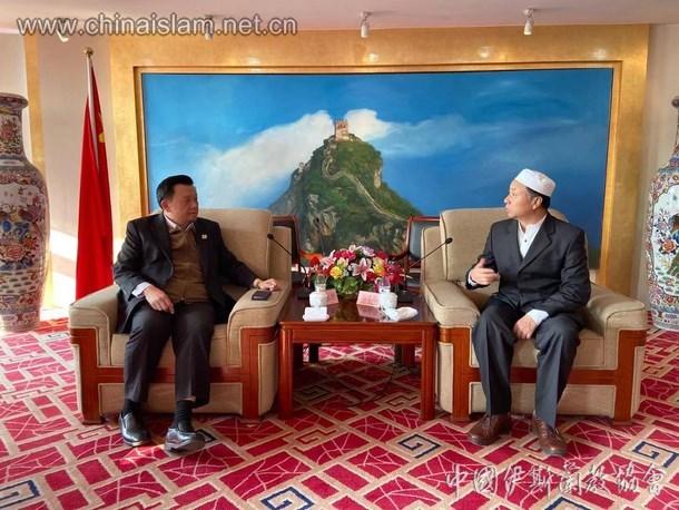 马来西亚华人穆斯林协会代表团拜会中国伊斯兰教协会(图)