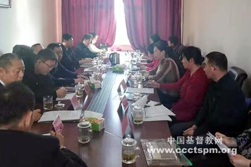 吉林省白城市基督教两会召开常委会部署2020年工作(图)
