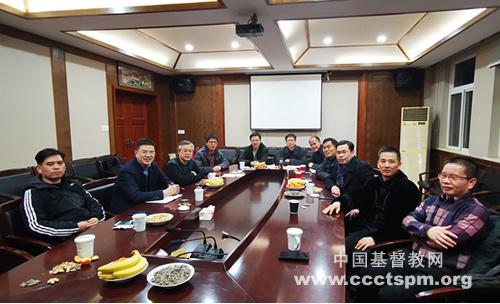 浙江省基督教两会召开本届青年事工委员会第二次会议(图)