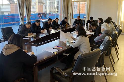 云南省基督教两会举行政策学习暨年终总结会议(图)