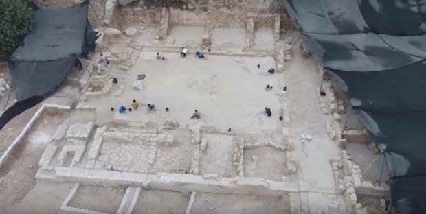 考古:耶路撒冷附近出土一1500年历史的教堂(图)
