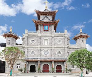 从教堂建筑艺术看天主教的中国化(图)