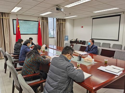 贵州省民族宗教事务委员会副主任徐佑刚召开研究网络意识形态工作会议(图)