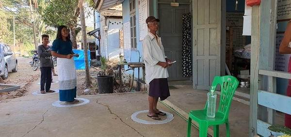 疫情之下 缅甸抗疫:柠檬、难民、巫神、病毒(图)