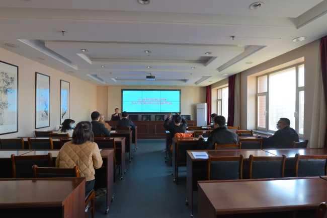 吉林省宗教团体服务中心举办NAS云存储办公培训(图)