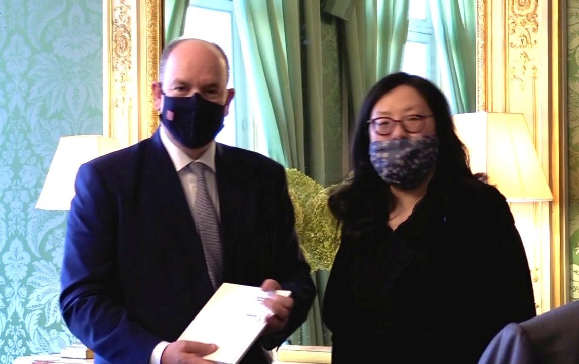 上海交通大学人文学院哲学系姜丹丹教授获法兰西学院2020年科研奖(图)